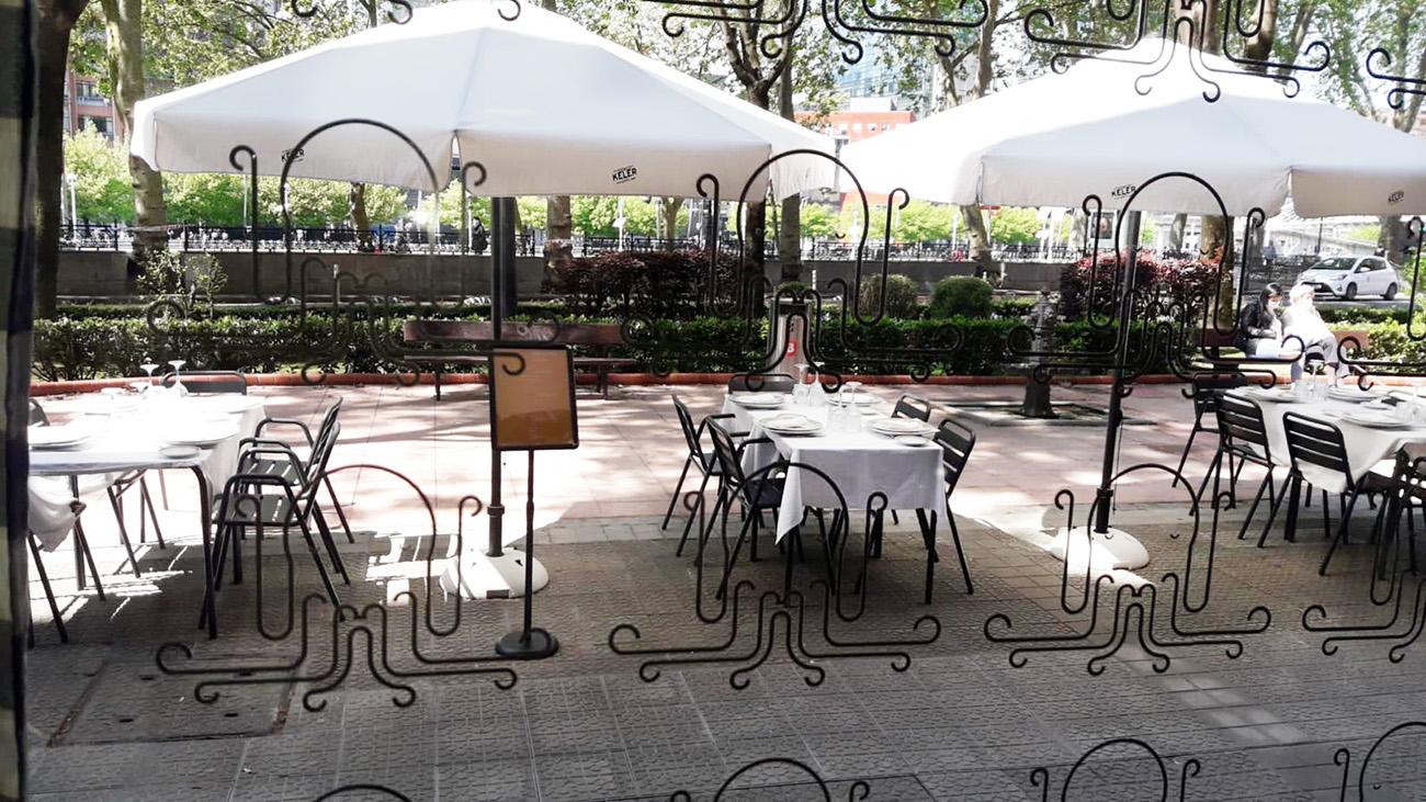 Tarrazas de Restaurante Olagarro